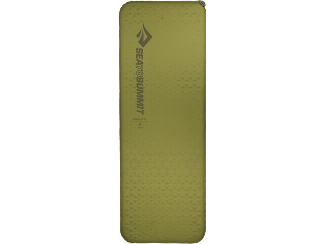 Sea to Summit Camp Self Inflating Mat Rectangular Regular Wide olive